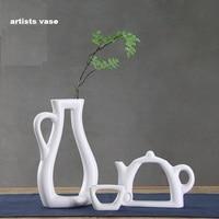 Christmas decorations ceramic vase pottery bottle Tableware artistic conception home decoration ceramic vase