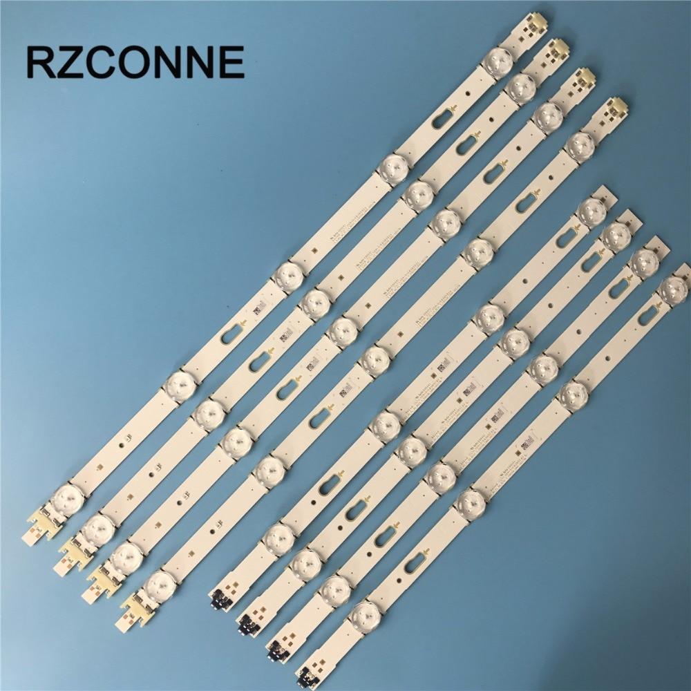 8pcs LED Backlight Strip LM41-00117N LM41-00117M S_5J63_40_FL For Samsung 40'' TV UE40J6302AK UE40J6300AW UN40J6500 UE40J6370