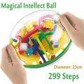 299 Pasos 3D Magia Intelecto Bola Laberinto Perplexus Bolas Magnéticas Juguetes Educativos de Mármol Juego de Puzzle IQ Equilibrio Juguete Para Los Niños