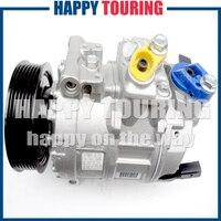 Compressor ac carro Para VW JETTA GOLF CADDY EOS GTI Crafter 1K0820803A 1K0820803E 1K0820803F 1K0820803J 1K0820803P 1K0820808B|car ac compressor|ac compressor|vw ac compressor -