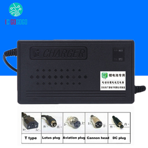Image 1 - 58.8V 48V ebike ליתיום LiPo ליתיום סוללה מטען 1.8A 2A 3A 4A 5A 15S תאי פולימר 3.7V Li 220V 15 תאים חבילה טעינה