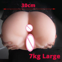 7kg Large 1:1 Ass for men realistic lady TPE Sexy toy for adult virgin pussy anal virgina anus women anime fun Jokes gadget