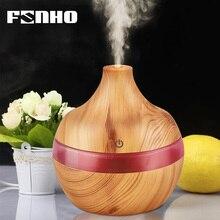 FUNHO Ароматизатор воздуха мл 300 ультразвуковой увлажнитель ароматерапия эфирные масла диффузор ночник Humidificador Fogger для дома 25 s