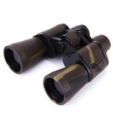 20X50 Compact HD Binoculars Asika Zoom Bak4 Prism Optical Free Shipping Camping Tricolor