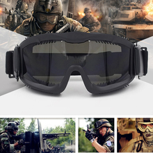 8efceb588a Military CS Wargame Ballistic Goggles Hunting Shooting Tactical Sunglasses  Eye Protection Eyewear Anti-fog Airsoft