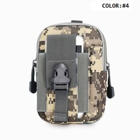 Tactical Molle Pouches Accidental Injury Emergency Medical Tool Kit Travel Cycling Mountaineering First Aid Kit Waist