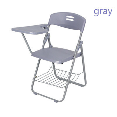 2 Pcs new Folding Chair Chair Bring Writing Board Chairs Office Chair Plastic Student Teaching цена