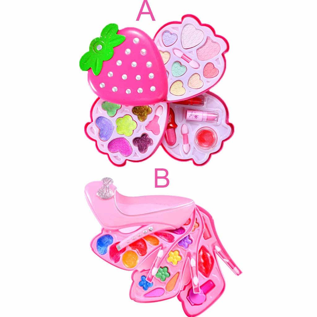 Детская ролевая игра для маленьких девочек ролевые игры Комплект косметики для Макияжа Косметический ролевые игры, игрушки для детей лучший подарок игрушка набор T6 #
