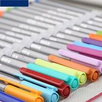 The German STAEDTLER 334PC20 Color Sketch Staedtler Fiber Pen 20 Pen Pen Curtain Set