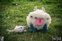 Elsadou Do Not Starve Snow Chester Plush font b Doll b font White Replica Stuffed Toy
