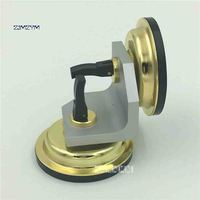 ZJMZYM BP26 Right Angle Small Plate Suction Cup Lifting Glass Tool 75mm Diameter 90 Degree Angle Glass Fixed Installation Sucker