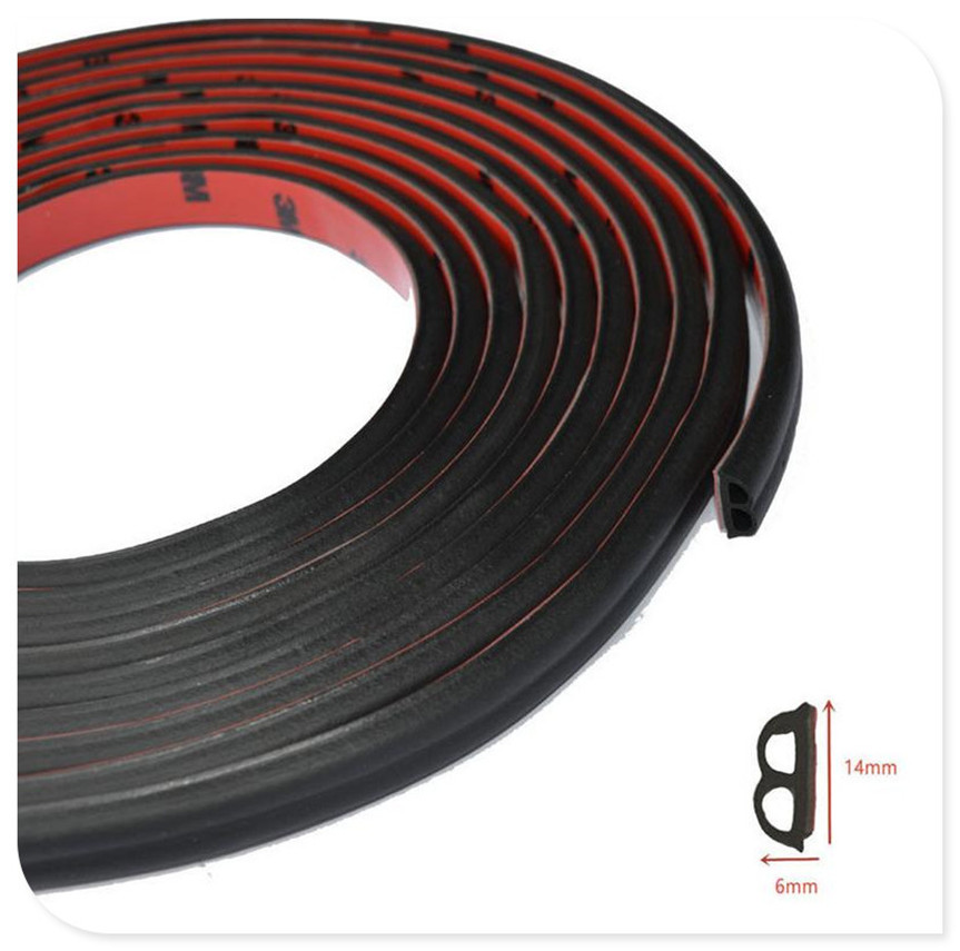 CAR Door Seal Strip for <font><b>Mercedes</b></font> Benz E53 C63 C43 C-Class AMG GL550 F800 A200 ML500 ML350 GL450 <font><b>A180</b></font> image