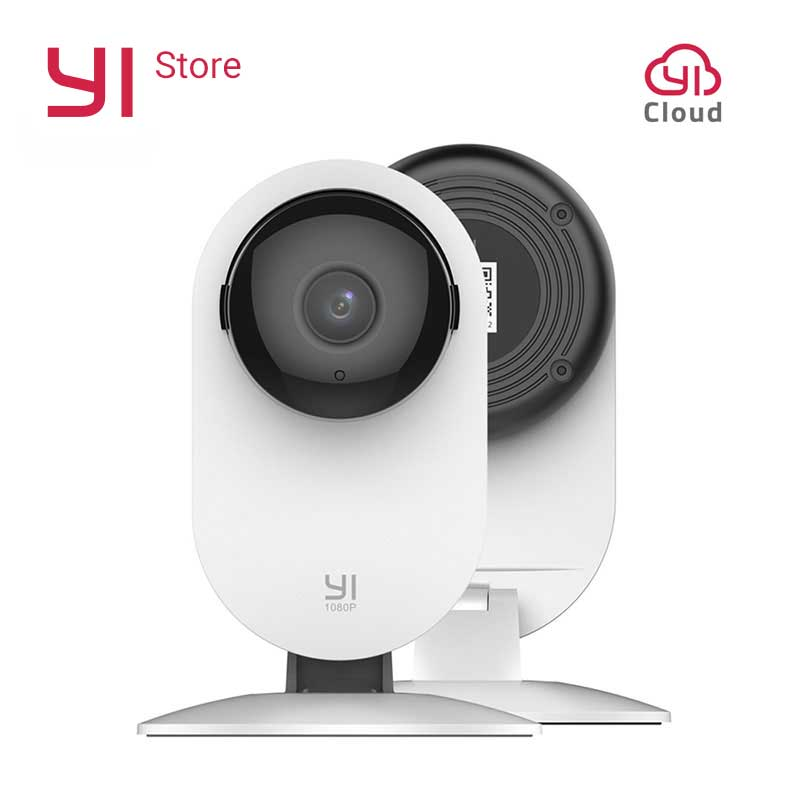 YI 1080p Home Camera Sistem Pengawasan Keamanan IP Nirkabel (Edisi AS / UE)