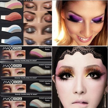 30pairs Eyeshadow Sticker Disposable Eye Shadow Makeup Tools Easy Use Cosmetic Products Free Shipping