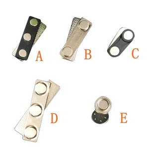 Image 2 - 50pcs ชื่อป้าย ID ผู้ถือ strong fastener แม่เหล็กชื่อ: