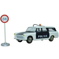 Diecasts Toy Vehicles 1 43 Dinky Toys Miniatures 1429 BREAK PEUGEOT 404 POLICE Alloy Diecast Car