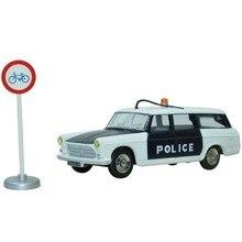 toy car 1:43 Dinky toys Miniatures 1429 BREAK PEUGEOT 404 POLICE Alloy Diecast Car Model