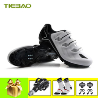 Tiebao Mountainbike Schoenen 2019 Fietsen Sneakers Sapatilha Ciclismo Mtb Spd Pedalen Cleat Fietsen Schoenen Zelfsluitende Schoenen
