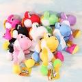 20 cm Super Mario Bros Run Yoshi Plush Stuffed suave bonecas Toy figuras 9 cores disponíveis