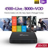 Italia SUBTV Subscription Android TV Set Top Box 3G RAM S912 Octa Core IPTV Abaric IPTV
