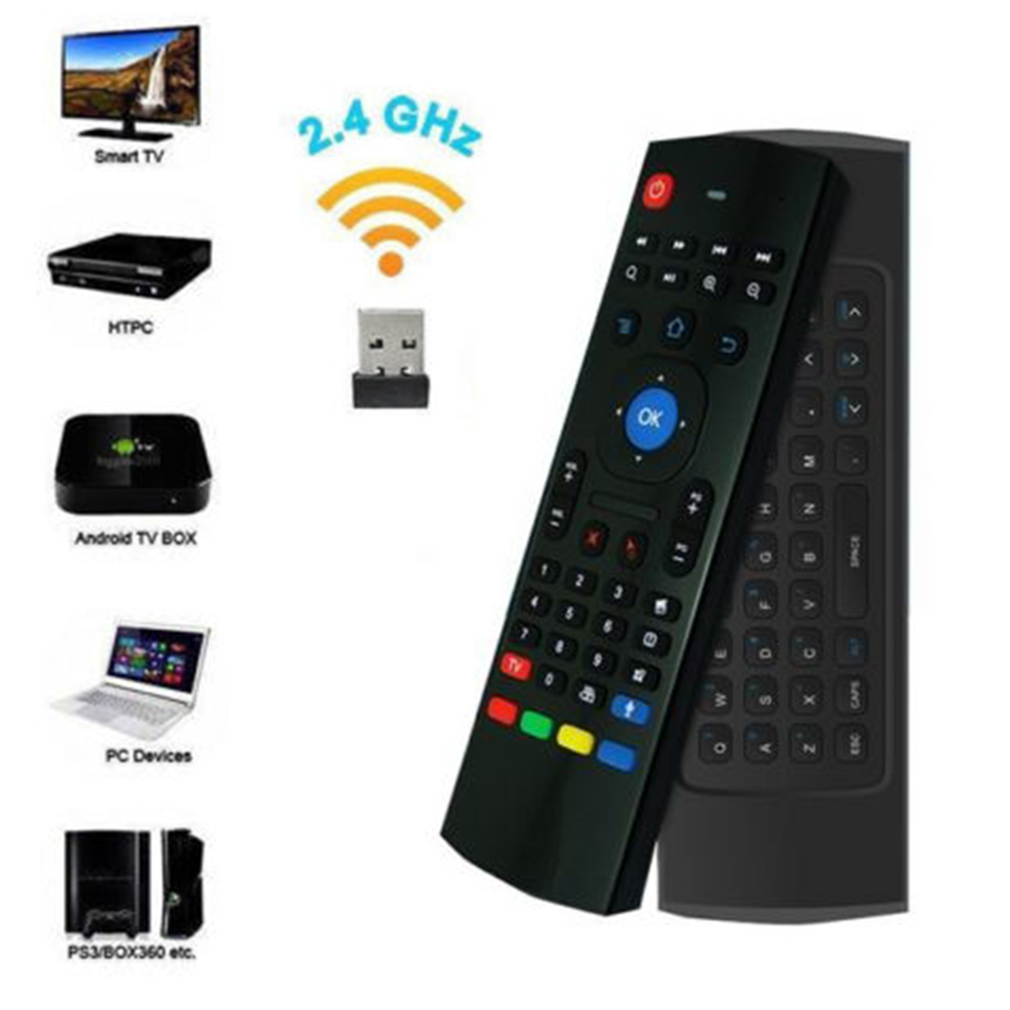 buy mx3 backlight 2 4g wireless keyboard controller remote control air mouse. Black Bedroom Furniture Sets. Home Design Ideas