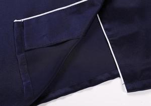 Image 5 - 100% Pure Silk Womens Classical Pajama Set Sleepwear Nightgown M L XL YM007