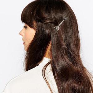 1 قطعة مشبك شعر حار بيع النساء أغطية الرأس عارضة مقص نمط جديد أزياء مشبك شعر المشابك الشعر ملابس اكسسوارات خوذة