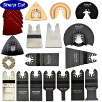 Hot Sale Oscillating Tool Saw Blades 42pcs Kit including an Adapter Suit for Fein ,Dremel,Bosch,Milwaukee machines and so on