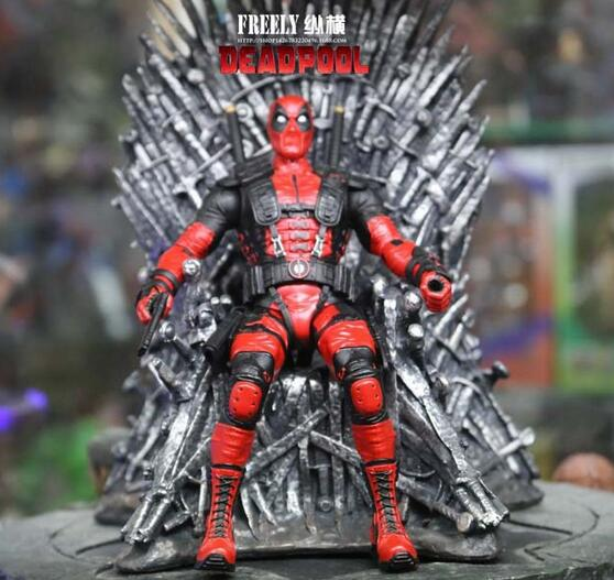 NEW hot 17cm Game of Thrones Iron Throne Song Of Ice And Fire collectors action figure toys Christmas gift doll 17cm the iron throne game of thrones a song of ice and fire action figure toys sword chair model toys chirstmas gift