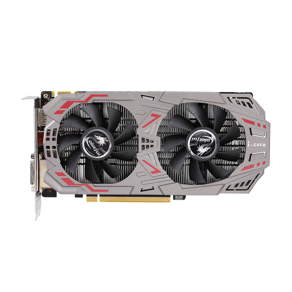 Colorful GTX950-Twin-2GD5 Graphics Card 128bit 6600MHZ GDDR5 DP+HD+DVI PCI-E X16(3.0)  (Used/Second-  Hand)