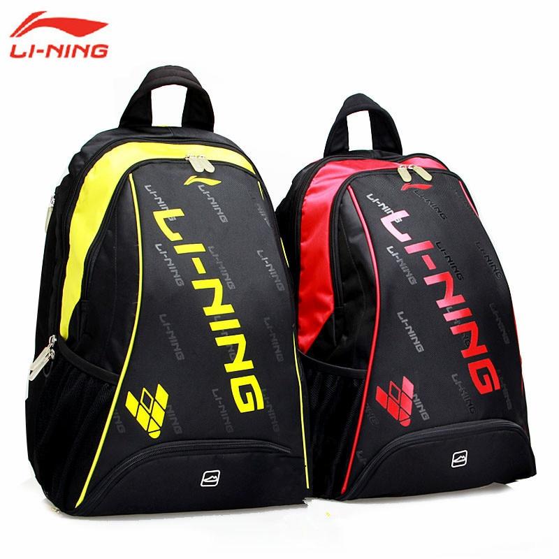 Lining Badminton Rackets Bag 2016 New Genuine 2 3 Racquets Load Badminton Bag Li ning ABJK074