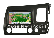 ZESTECH Car Auto Multimedia DVD Player for CIVIC DVD GPS player LHD with BT,IPOD,TV IPHONE menu