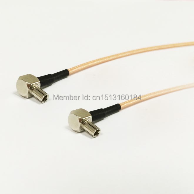"""FME male plug to TS9 male straight RF pigtail cable RG178 15cm 6/"""" NEW Good Qual"""