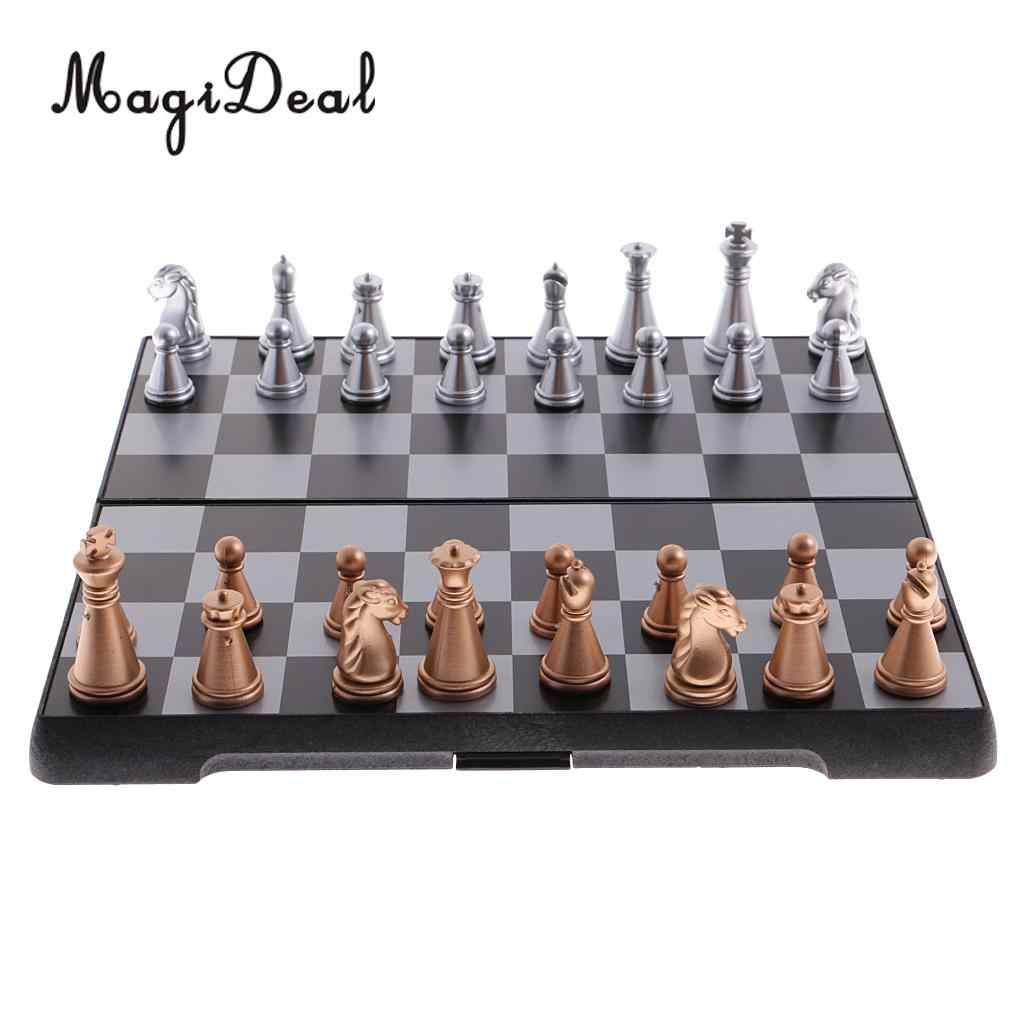 Magnetic Chess Set With Folding Chess Board for Kids and Adults High quality