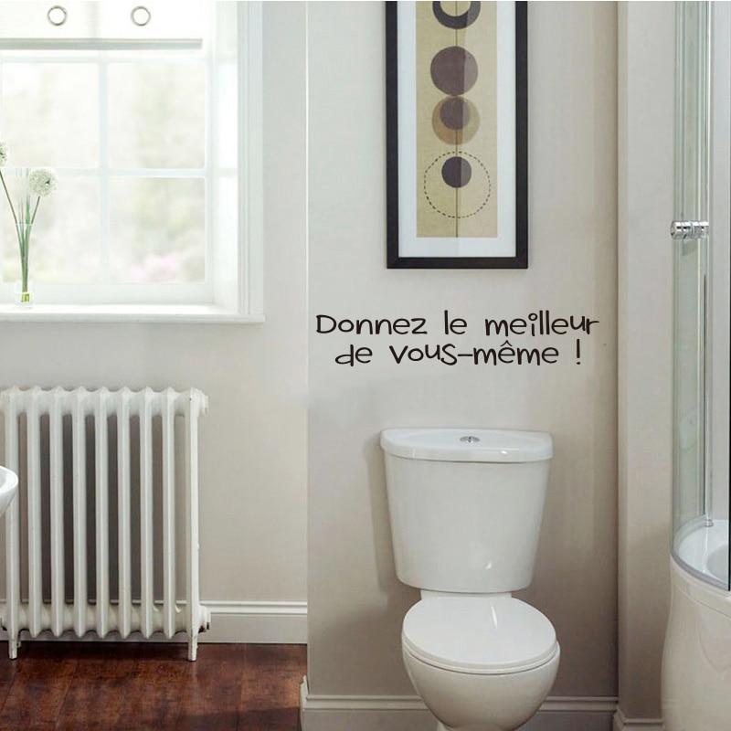 Removable 3D Toilet WC Man Women Decor Decal Vinyl Art Wall Sticker Decor QL