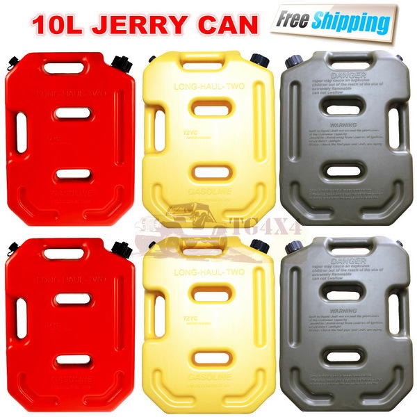 10Litre Red Jerrycan Plastic Fuel Tank Spare Petrol Oil Jerry Can Car Motorcycle Atv Suv Utv Gasoline Storage Tanks Jerri Cans-in Petrol Cans from ...  sc 1 st  AliExpress.com : petrol storage containers  - Aquiesqueretaro.Com