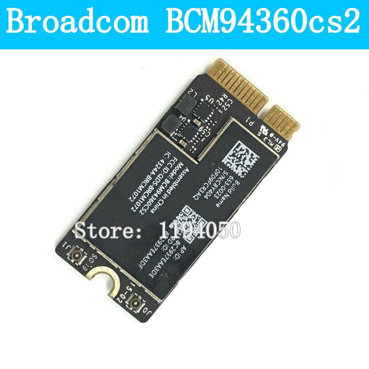 Broadcom Bcm94360cs2 Bcm94360cs2ax Bcm4360 Bluetooth Wireless Wifi Card Module for Air 11  A1465 13  A1466 802.11ac