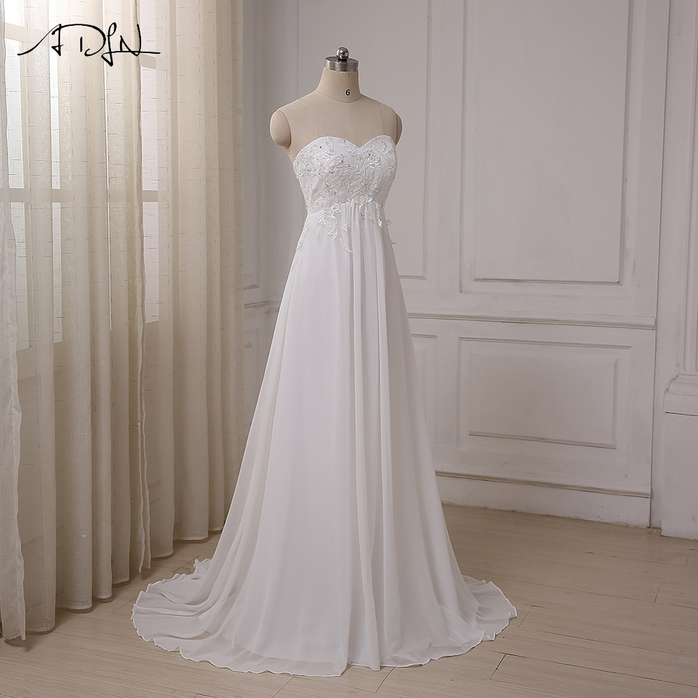 ADLN Φτηνές Φόρεμα Γάμου Sweetheart - Γαμήλια φορέματα - Φωτογραφία 3