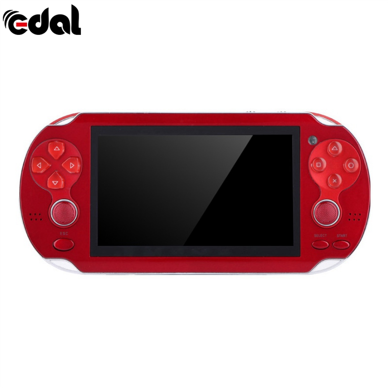 New 4.3 Inch Ultra Thin 64 Bit Handheld Game Players 8GB Memory MP5 Video Game Console 1000 Kinds Multimedia classic Games