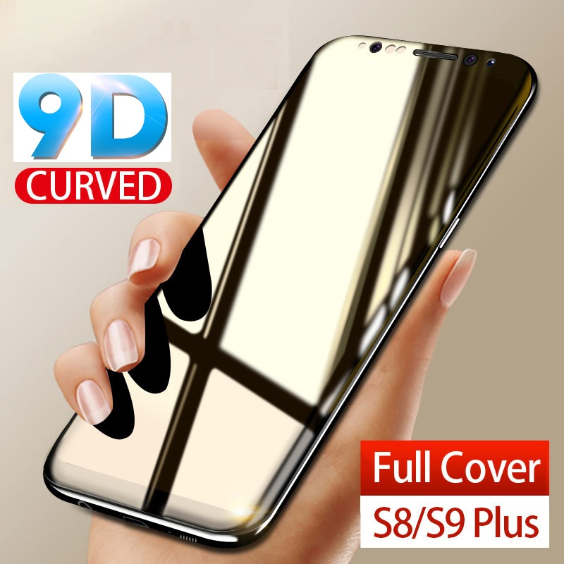 Moopok 9D Full Cover Tempered Glass For Samsung Galaxy S9 S8 Plus Note 8 9 Screen Protector For Samsung S8 S9 Protective GlassMoopok 9D Full Cover Tempered Glass For Samsung Galaxy S9 S8 Plus Note 8 9 Screen Protector For Samsung S8 S9 Protective Glass