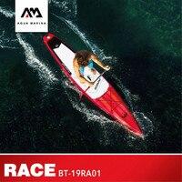 Oferta AQUA MARINA 2019 nueva raza Surfoboard SUP Surfing tablas tabla inflable de surf Paddle junta de