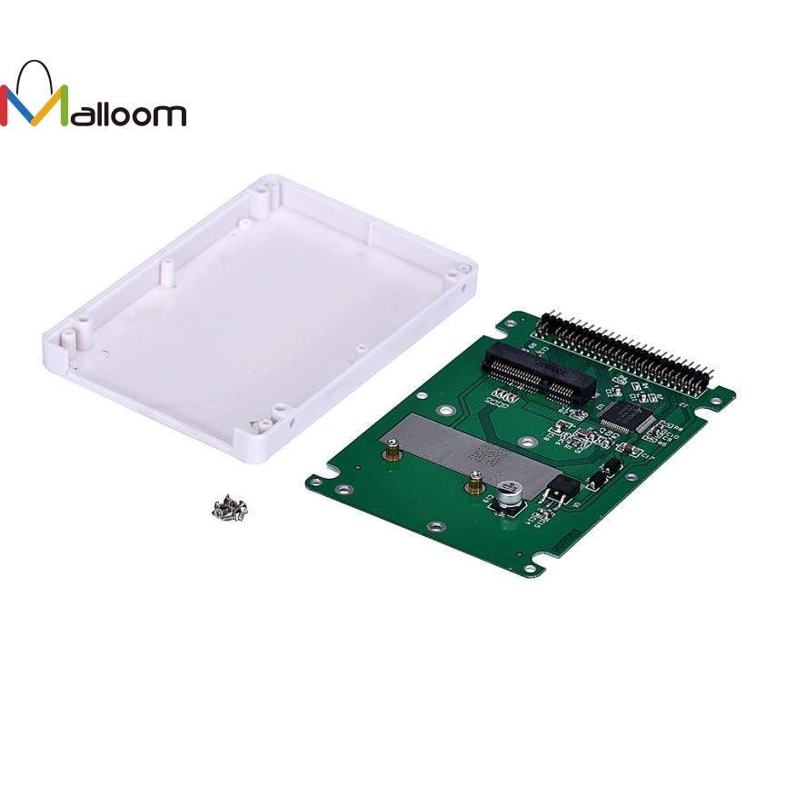 Malloom High Quality JECKSION mSATA To 2.5Inch PATA/IDE SSD Enclosure Adapter Case-in HDD ...