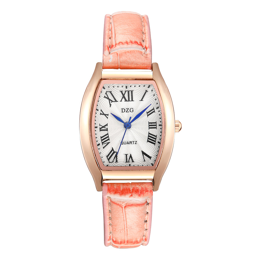 Quartz Watches Women Clock Lady Square Leather Strap Rectangle Casual Fashion Women's Dress Watch Ladies Wristwatch 233