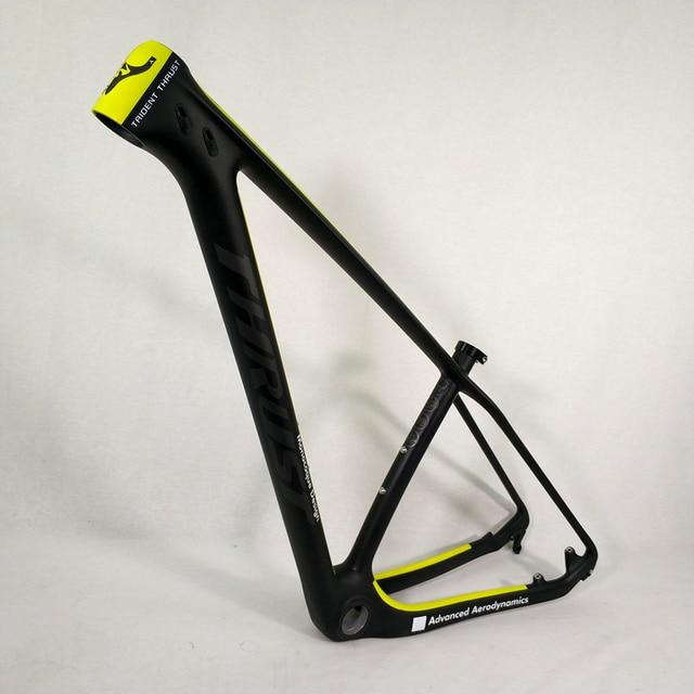 Wzdłużne rama karbonowa 29er 15 17 19 karbon mtb rama 29 er BSA BB30 rower rama maksymalne obciążenie 250kg 2 lata gwarancji 12 kolorów