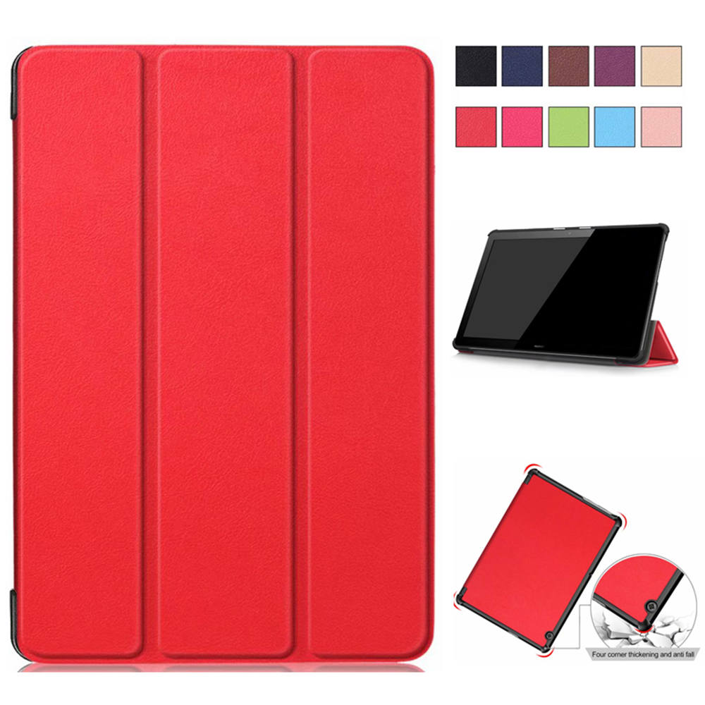 PU Leather Stand Cases For Huawei Mediapad T5 AGS2-W09/L09/L03/W19 10.0 Inch Tablet Magnet Smart Cover For Huawei T5 10 Case
