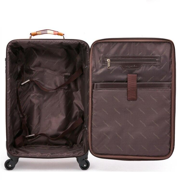 20 дюймов девушка прекрасный трав багаж, девушка конфеты сращивания цвет hardcase багаж тележки на универсальных колесах - 4