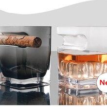 Tiaking Cigar стеклянная Бессвинцовая Хрустальная пивная кружка бытовые стеклянные бокалы для вина чашка для виски чашка для напитков 320 мл