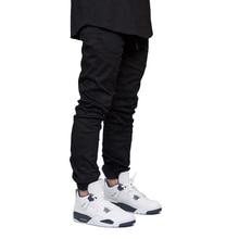 Мужские штаны для бега, Модные осенние хип-хоп шаровары, Стрейчевые штаны для бега, Y5037