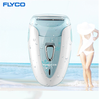 Flyco Professional Rechargeable Fashion Lady Shaver Hair Removal Device Female Epilator Electric Shaving Scraping FS7208