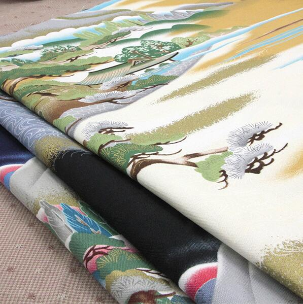 crafts materials brocade fabric,upholstery fabric for furniture hand DIY bag,50*150CM,Bronzing cloth Pine Tree,W028